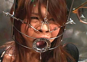 Asian slave girl gets incredible torture of her face and whole body